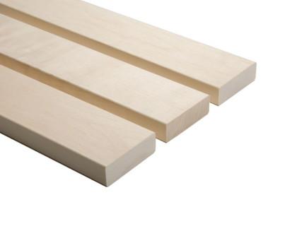 Csomómentes fehér nyárfa szauna padléc 28x90mm