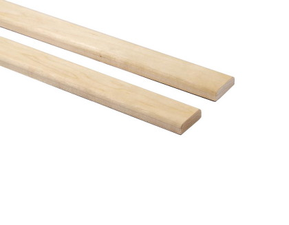 Csomómentes Fehér nyárfa szauna léc 15x45mm