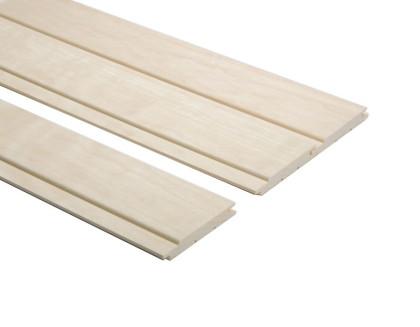 Csomómentes fehér nyárfa szauna lambéria 90mm széles