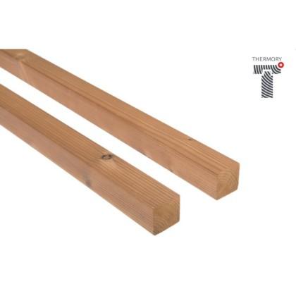 Thermowood borovi fenyő szerkezeti fa 42×42mm