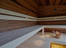 Szauna padléc fehér nyárfa 28x90mm