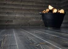 Svéd járófelületű hajópadló felületkezelve