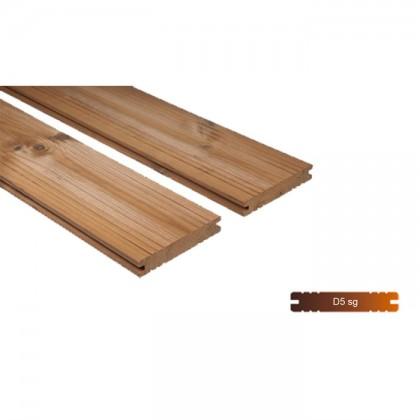 """Thermowood borovi fenyő teraszburkolat 26×140 """"A"""" minőség"""
