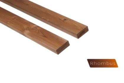 """Thermowood fenyő rombusz profilú árnyékoló 26×68 """"A"""" minőség"""