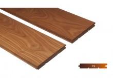 Thermowood kőris kemény fa padló burkolat