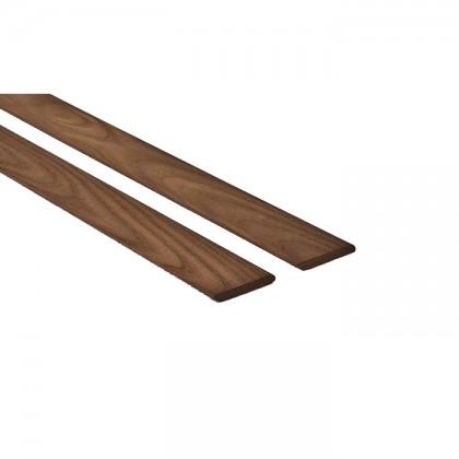 Thermowood kőris göcsmentes padló szegélyléc