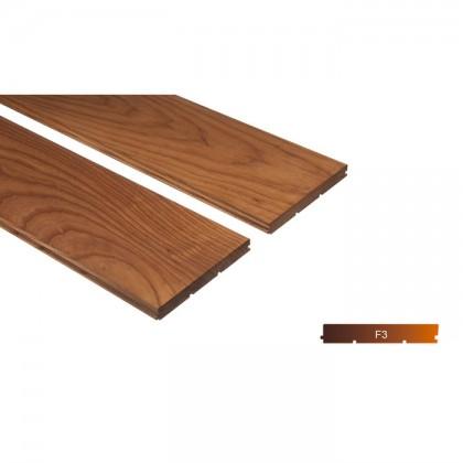 Thermowood kőris kemény fa padló burkolat 15x130mm göcsmentes 190°C