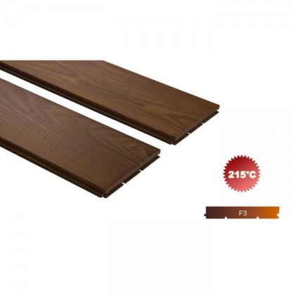 Thermowood kőris kemény fa padló burkolat 15x130mm 215°C