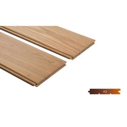 Thermowood kőris kemény fa padló burkolat 18x190mm