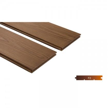 Thermowood kőris kemény fa padló burkolat 18x190mm 215°C