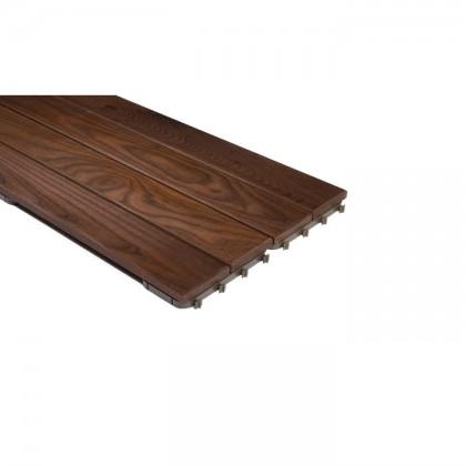 Thermowood kőris Quick Deck Mozaik teraszburkolat