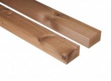 Thermowood fenyő terasz szerkezet fa