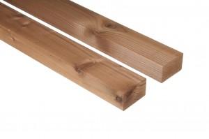 """Thermowood luc fenyő szerkezet fa 42×68 """"A"""" minőség"""