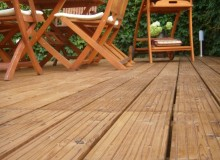 Thermowood fenyő teraszburkolat 'B' minőség