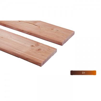Vörösfenyő teraszburkolat 19x145mm AB minőség