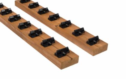 Thermory CLAD szerkezeti fa PaC-System² Falburkolathoz