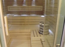 Szauna lambéria fehér nyárfa 15x120mm
