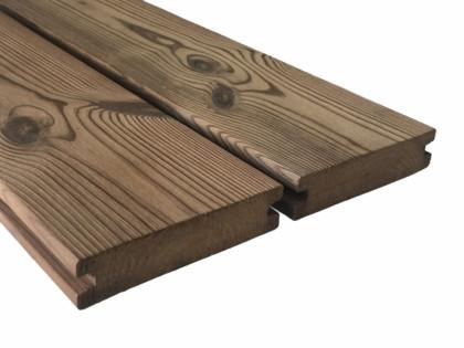 """Thermowood borovi fenyő teraszburkolat 26×115 """"A+"""" minőség"""