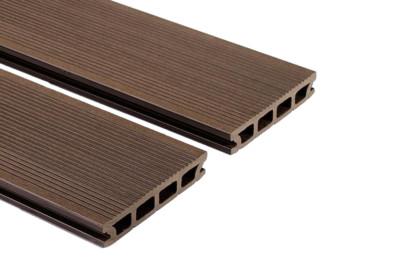WPC műanyag / bambusz kompozit teraszburkolat – sötét barna
