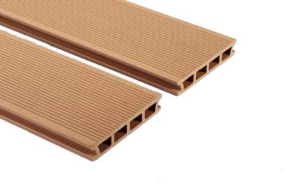 WPC műanyag / bambusz kompozit teraszburkolat – világos barna